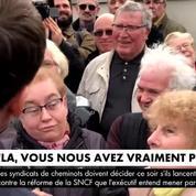 Macron interpellé par des retraités : «Vous nous avez vraiment pompés !»