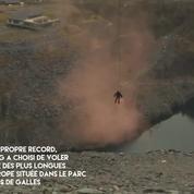 Richard Browning bat le record du monde de vitesse en jetpack