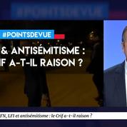 Le Crif a-t-il raison de s'opposer à la présence de Marine Le Pen et de Jean-Luc Mélenchon ?