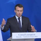 Emmanuel Macron : « La menace terroriste demeure élevée essentiellement car elle est endogène »