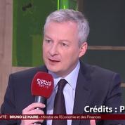 Bruno Le Maire sur le site industriel de Blanqueford en Gironde : «Je vais me battre»