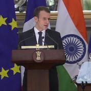 Macron en Inde pour en faire «le premier partenaire stratégique de la région»