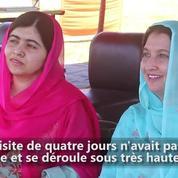 La Prix Nobel Malala de retour dans sa vallée natale