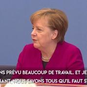 Angela Merkel veut une «nouvelle cohésion pour l'Allemagne»