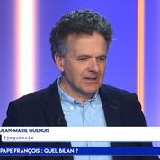 Jean-Marie Guénois : «Le pape François renverse la pyramide hiérarchique de l'Eglise»
