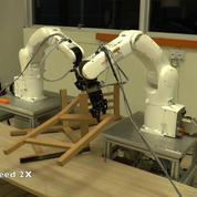 Ces robots assemblent un meuble Ikéa en moins de 9 minutes