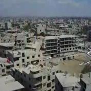 Syrie : un drone militaire filme la dévastation du quartier de la Ghouta