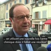 François Hollande : les frappes en Syrie étaient justifiées