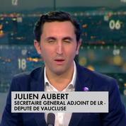Julien Aubert mécontent du sommet entre Trump et Macron