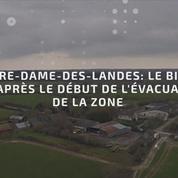 Notre-Dame-des-Landes: le bilan 48h après le début de l'évacuation de la zone