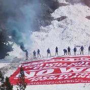 Dans les Alpes, des identitaires veulent bloquer l'accès aux migrants