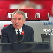 François Bayrou sur la sortie du livre de François Hollande :
