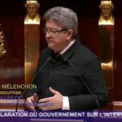J-L. Mélenchon : «Nous sommes intervenus en Syrie sans preuves»
