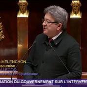J-L. Mélenchon :«Nous sommes intervenus militairement dans le pire nid de frelons de la planète»