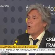 Stéphane Le Foll « choqué » que Ciudadanos propose la mairie de Barcelone à Manuel Valls