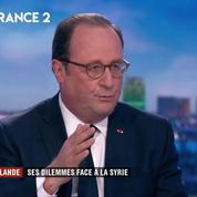 François Hollande : «Quand une ligne rouge est violée (...) La seule réaction possible est une frappe»
