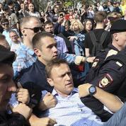 Russie : les images de l'arrestation d'Alexeï Navalny