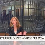 Nicole Belloubet : «On compte à peu près 500 terroristes islamistes qui sont en détention»