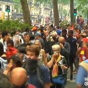 Manifestation du 26 mai : des jets de gaz lacrymogène font reculer le cortège