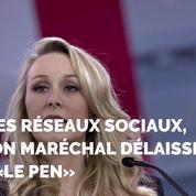 Sur les réseaux sociaux, Marion Maréchal ne veut plus s'appeler «Le Pen»