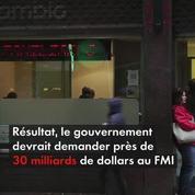 L?Argentine demande de l?aide au FMI