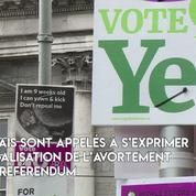 Référendum sur l'avortement : la société irlandaise divisée