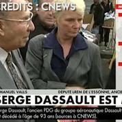 Mort de Serge Dassault : Manuel Valls lui rend hommage