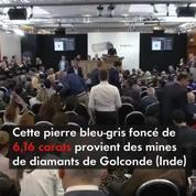 Diamant Farnese Blue vendu aux enchères pour 6,7 millions de dollars