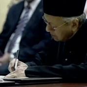 Malaisie : un nouveau Premier ministre de 92 ans prend la tête du pays