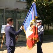 Inauguration d'un commissariat au nom d'Arnaud Beltrame
