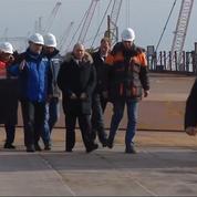 Vladimir Poutine inaugure le pont de la Crimée