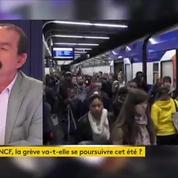Philippe Martinez : «La CGT va proposer de poursuivre le mouvement début juillet»