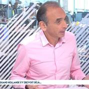 Zemmour : «ce qui manque à Hollande ? Avoir été président»