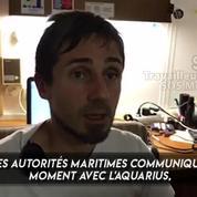 Aquarius : l'ONG en charge du navire estime que le voyage vers l'Espagne est trop dangereux