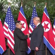 Trump-Kim : premières images, premières leçons
