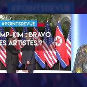 Trump-Kim : bravo les artistes ?