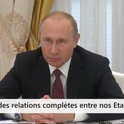 Un accord pour une rencontre Poutine-Trump