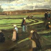 Vente aux enchères d'un paysage de Van Gogh à Paris