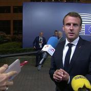 Accord sur les migrations : « C'est la coopération européenne qui l'a emporté » estime Macron