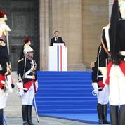 Le discours d'Emmanuel Macron en hommage à Simone Veil