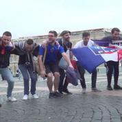 Mondial 2018 : les supporters prêts pour le choc France-Belgique
