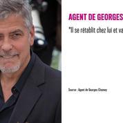 George Clooney blessé dans un accident de scooter, son agent donne de ses nouvelles