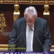 Affaire Benalla : le discours de motion de censure d'André Chassaigne en intégralité