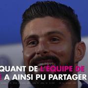 Les Bleus champions du monde : Le tendre message d'Olivier Giroud pour Jade, sa fille de 5 ans