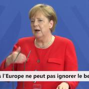 Migrants : Passe d'armes entre Merkel et Orban