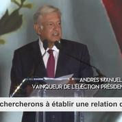 Mexique : López Obrador veut une « relation d'amitié et de respect mutuel » avec les États-Unis