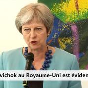 Novitchok : «La police ne laissera rien au hasard dans son enquête» (Theresa May)