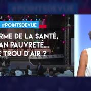 Macron : réforme de la santé, plan pauvreté ...le trou d'air?