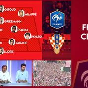 France-Croatie : « Il n'y a pas de raison de virer Giroud »