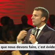 Migrants : « Nous devons régler la situation en Libye» (Emmanuel Macron)